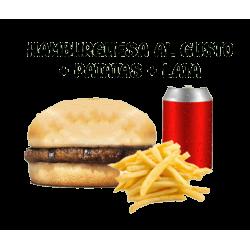 Oferta Hamburguesa al gusto