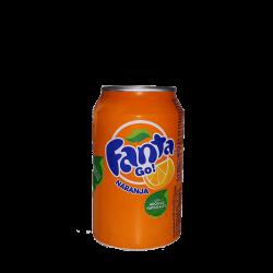 Fanta de naranja 33cl